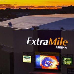 ExtraMile Arena Exterior